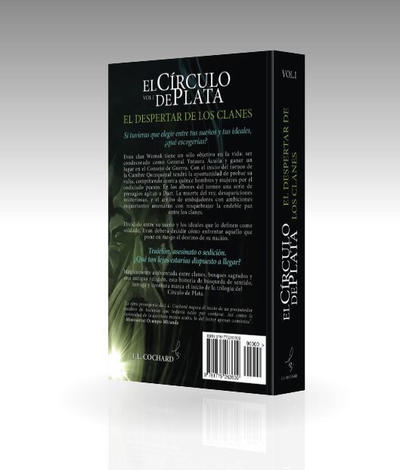 El Crculo de Plata: Contraportada by LANZAestudio