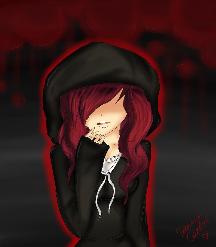 Hidding my face ~ speedpaint by Drawing-Heart
