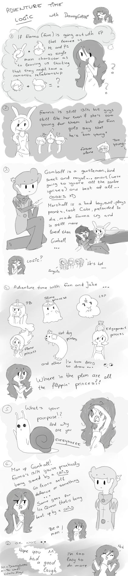 Adventure time logic by Drawing-Heart