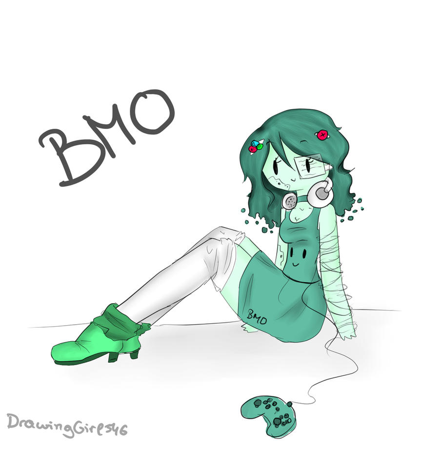 BMO again by Drawing-Heart