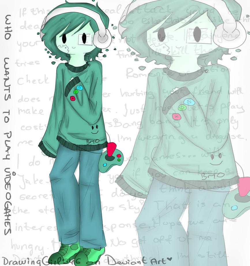 BMO as a boy by Drawing-Heart