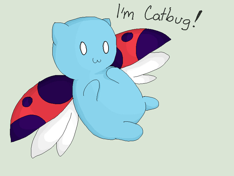 Catbug by Drawing-Heart