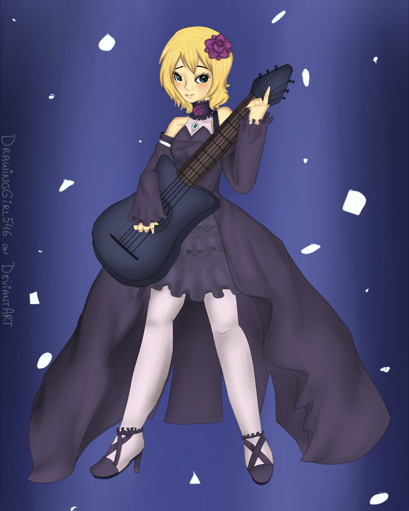 how to draw rin kagamine