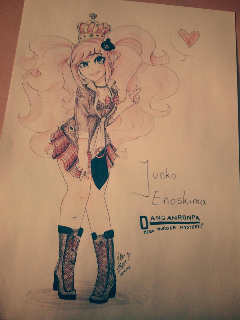 Junko Enoshima by Drawing-Heart