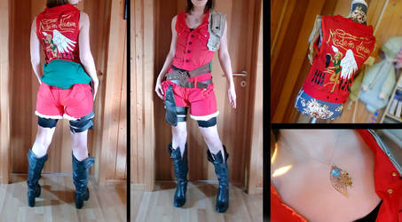 Claire Redfield Costest RE2 Remake by Dragomyra