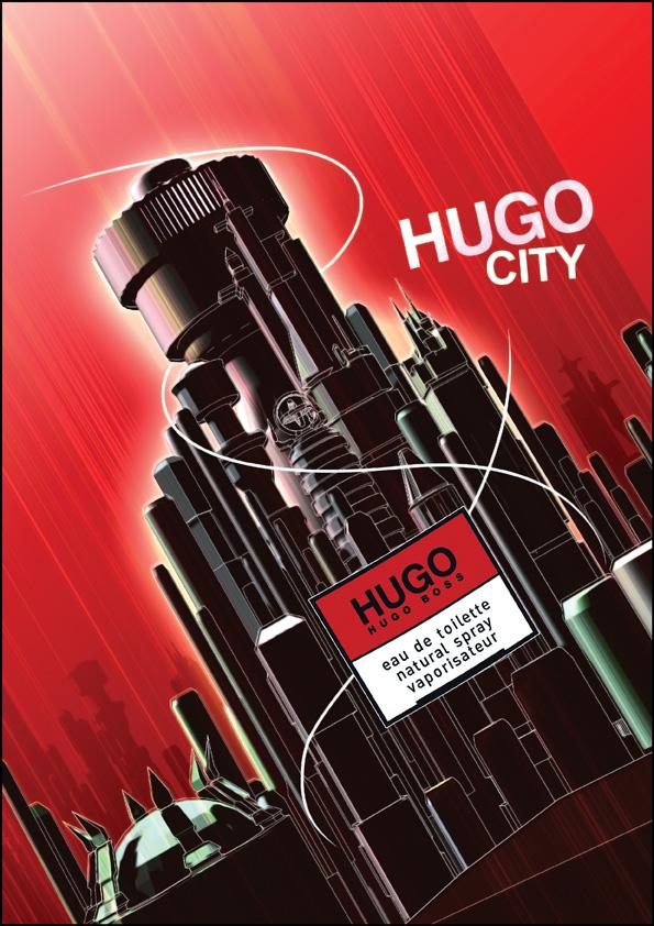 HUGO SimpliCity: HUGO CITY by adox-tnw