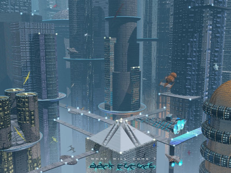 Dark Future City by adox-tnw