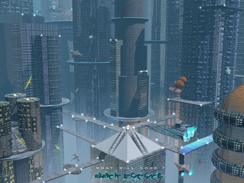 Dark Future City by adox-tnw