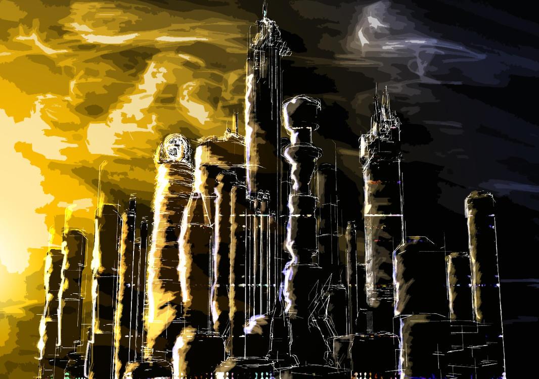 Sketch City by adox-tnw