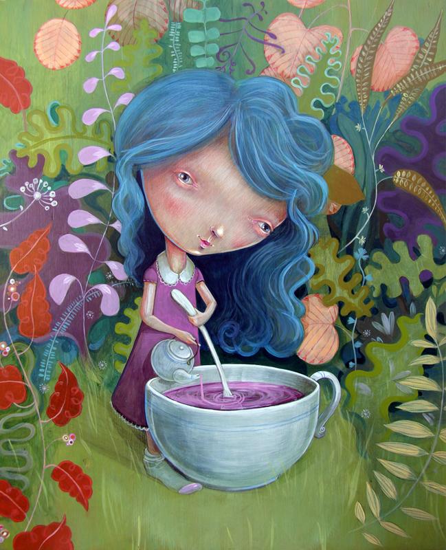 Te en el bosque by MiguelBethencourt