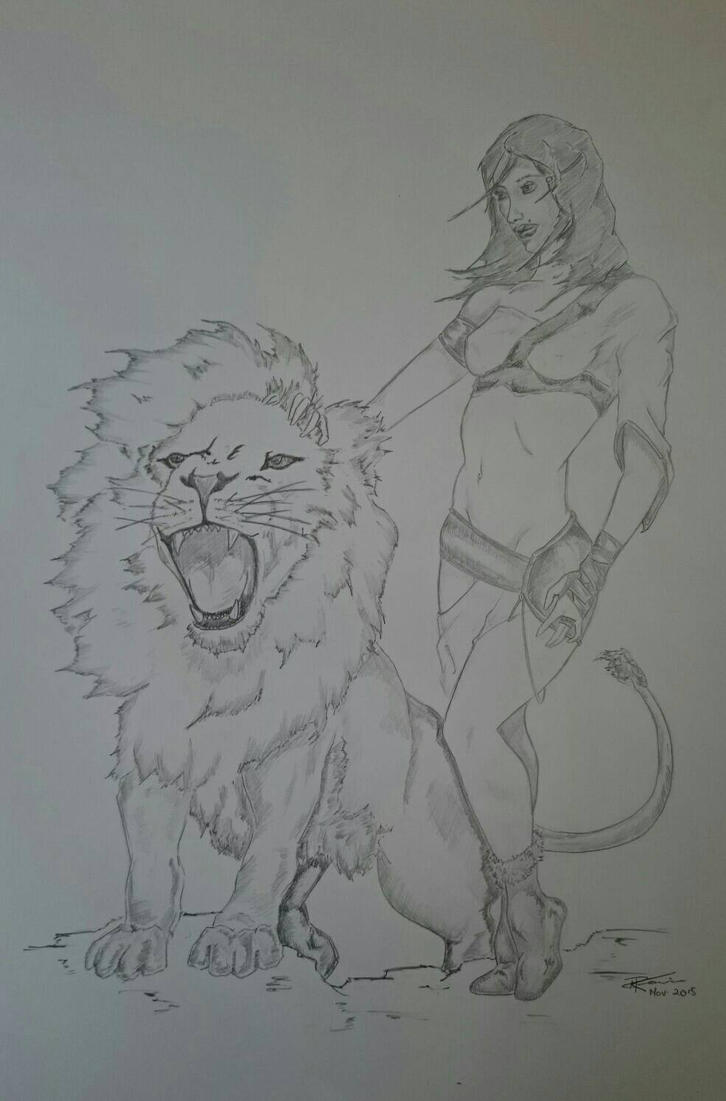 Birthday sketch by IgnisDei