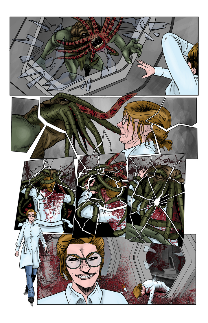 From The Depths - page 04 by plwoodscomics