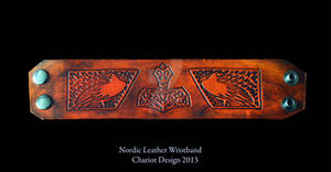 Nordic Leather Wristband