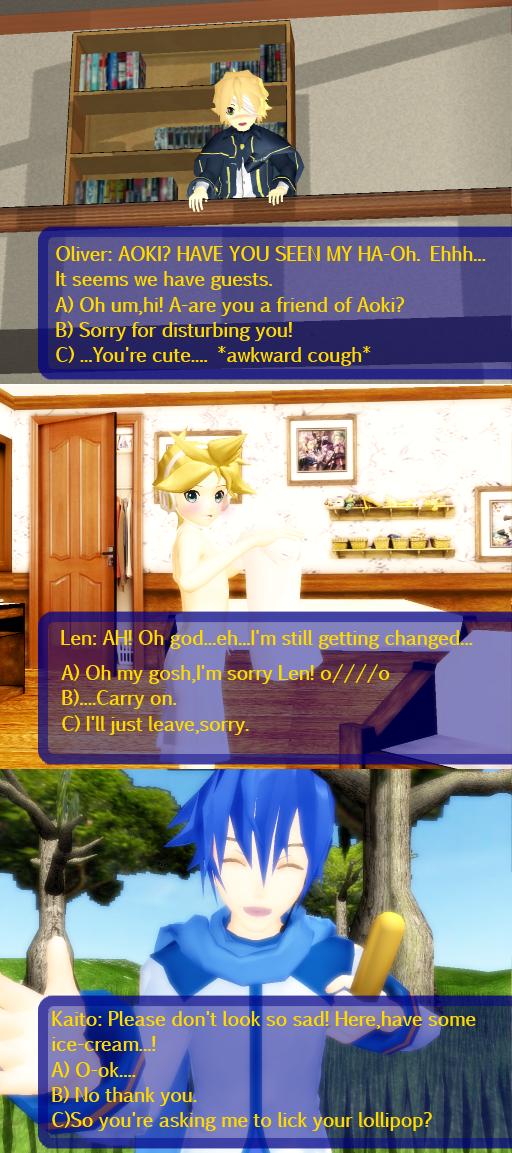vocaloid dating sim online