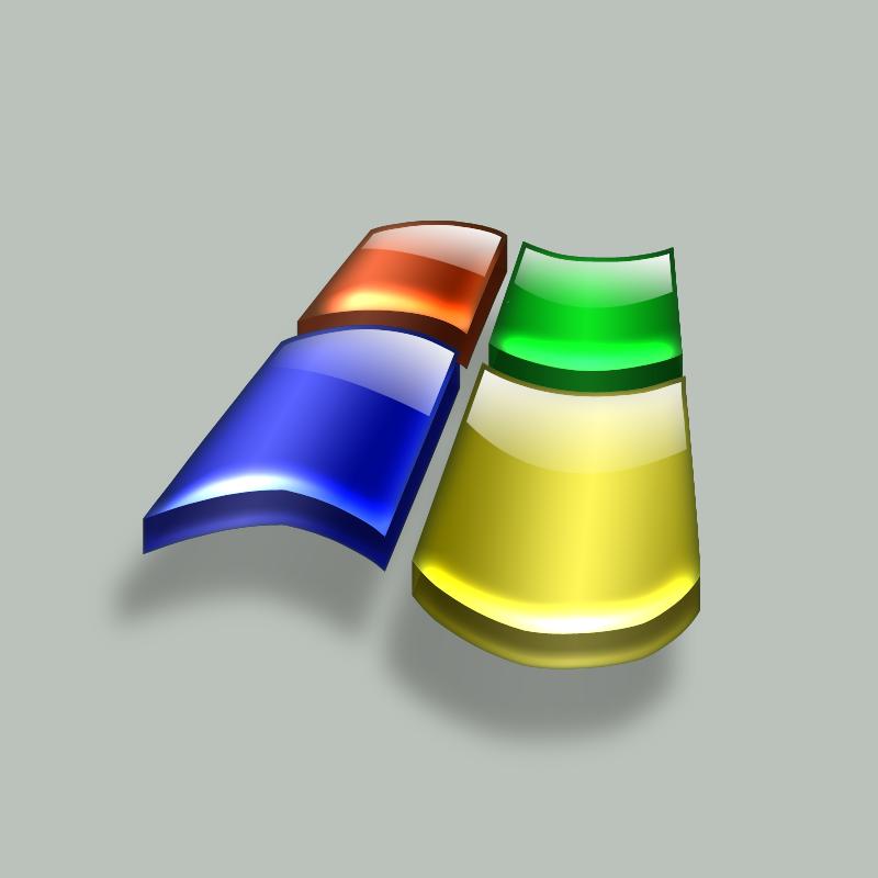 3d aqua windows logo by zimed on deviantart for Fenetre 3d windows 7