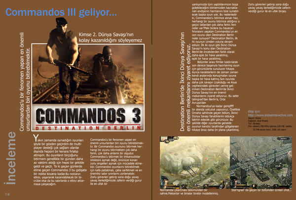 Magazine Page Design By