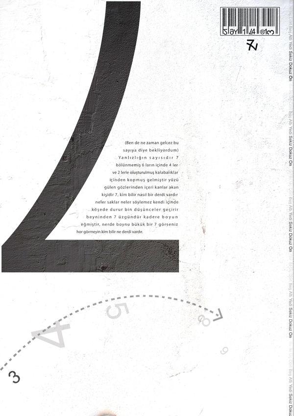 SAYILAR 7 by omerfarukciftci