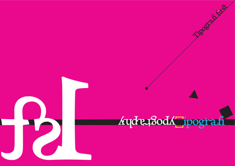 TYPOGRAPHY 1st by omerfarukciftci