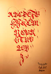 abc calliigraphy by omerfarukciftci