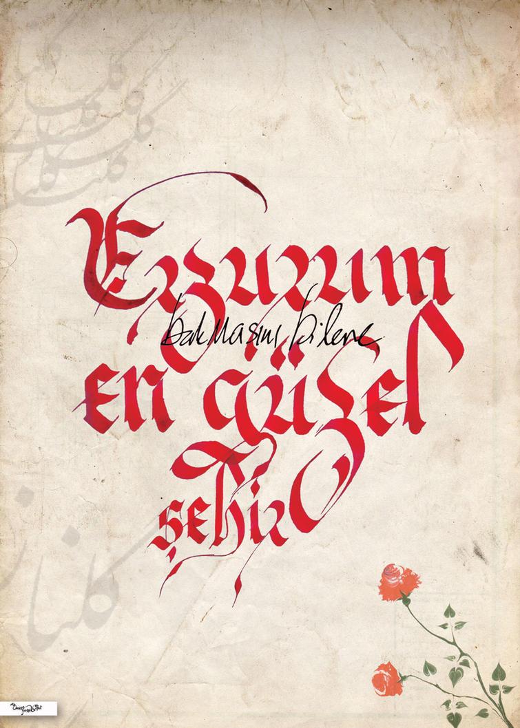 kaligrafi schreiben lernen