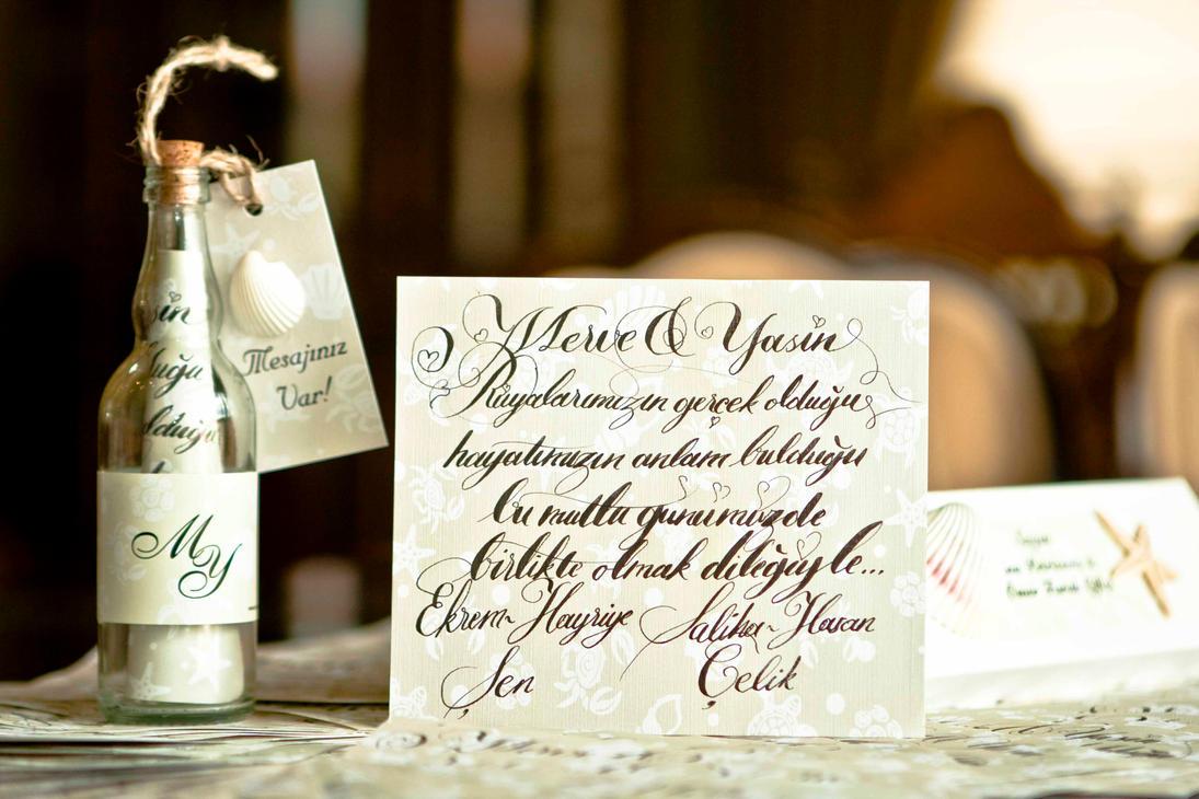 Wedding invitation by omerfarukciftci
