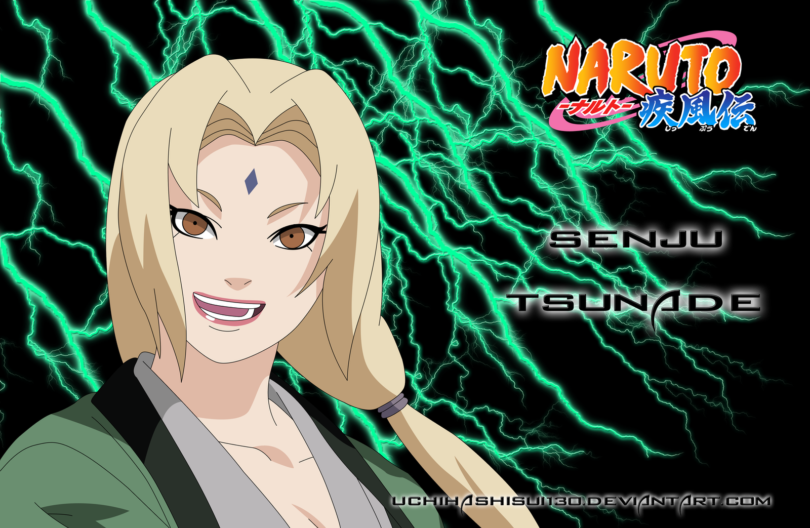 Senju Tsunade Wallpaper by ~uchihashisui130 on deviantART