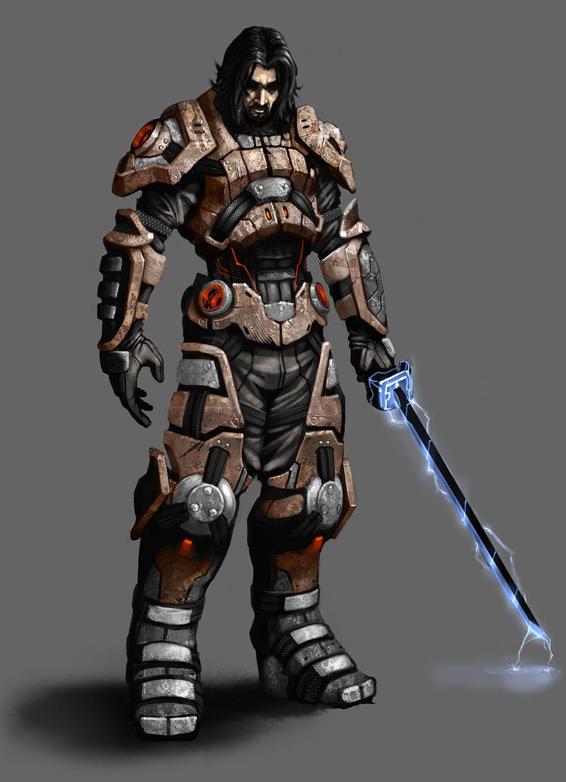 Brauk Armoured by mohzart