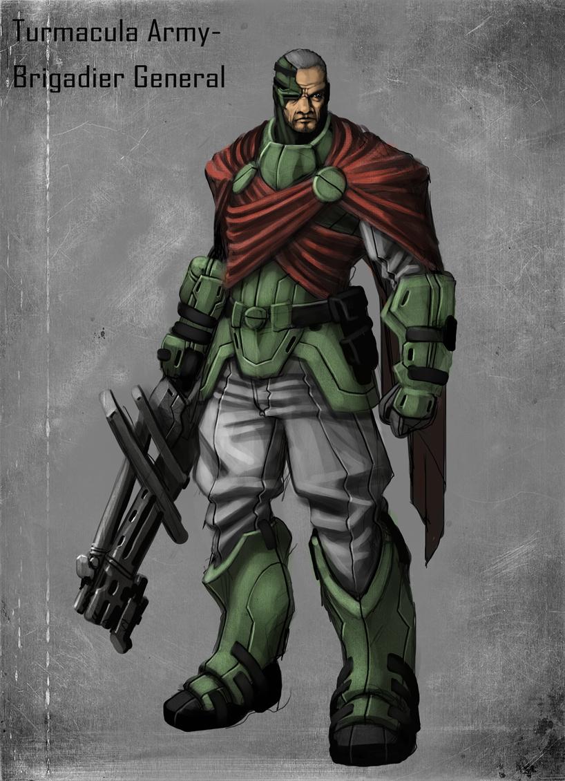 Brigadier by mohzart
