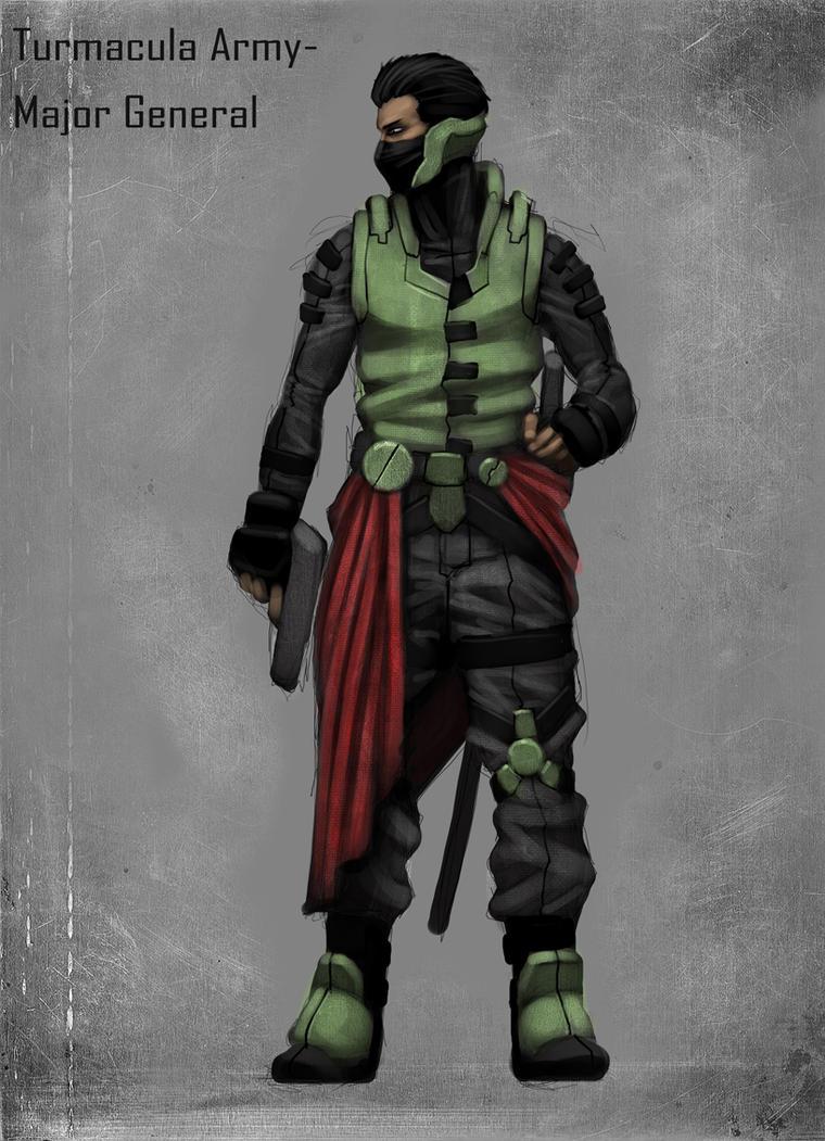 Major General by mohzart