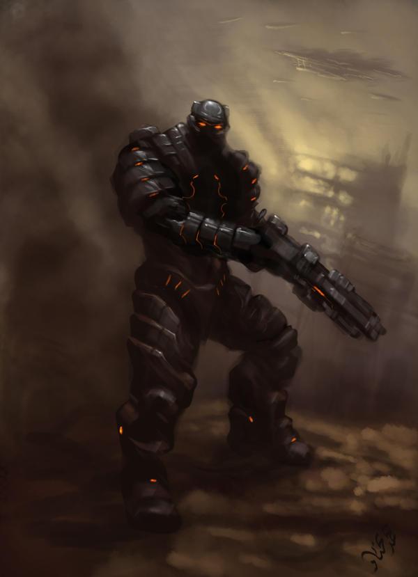 Wraith Concept by mohzart