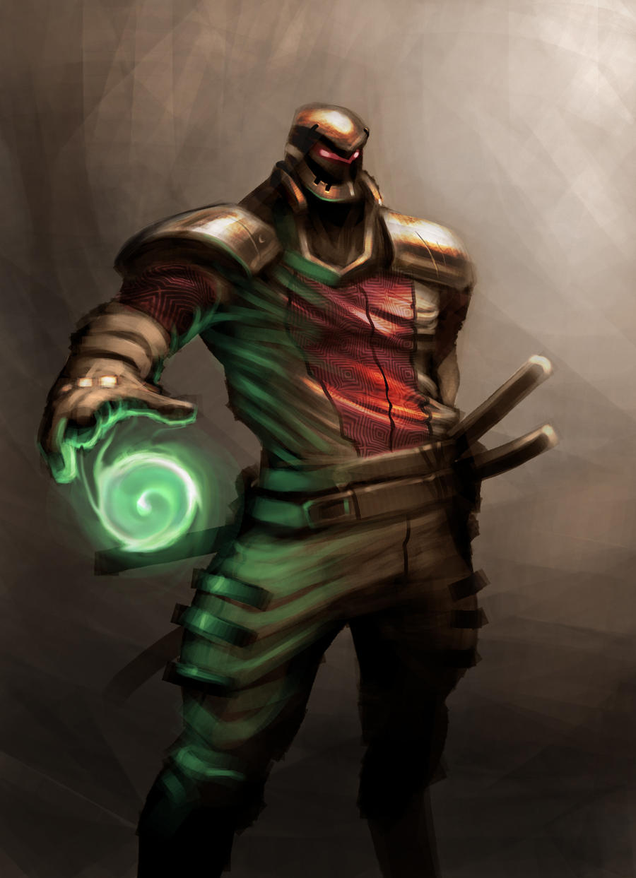 Cyborg Ninja by mohzart