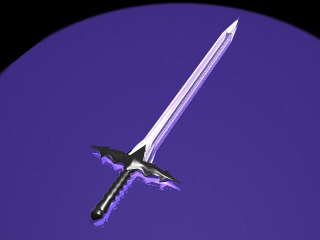 Real Sword Made Of Diamond The diamond sword by mohzart