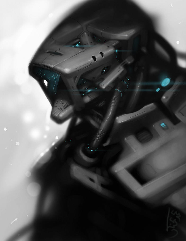 Experimental Machine character 2 by mohzart