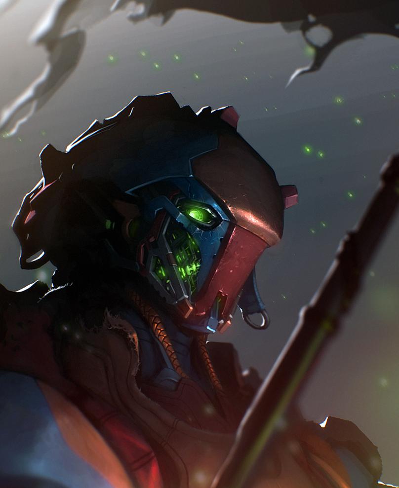 Destiny: Warlock fanart by mohzart