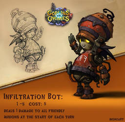 Goblins Vs Gnomes: Infiltration Bot by mohzart