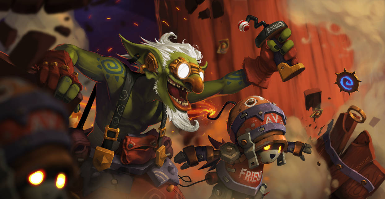 GvG: Goblin and Bot storm the Keeper's Inn!