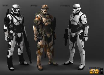 Storm Trooper redesign Full by mohzart