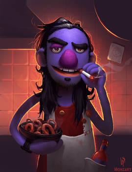 Muppet Self Portrait