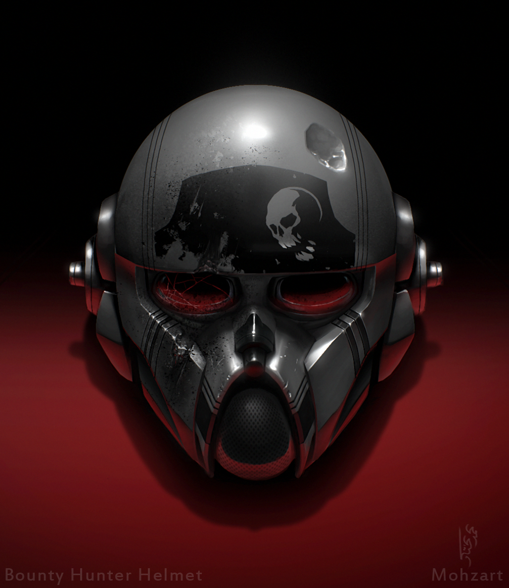 Bounty Hunter Helmet by mohzart