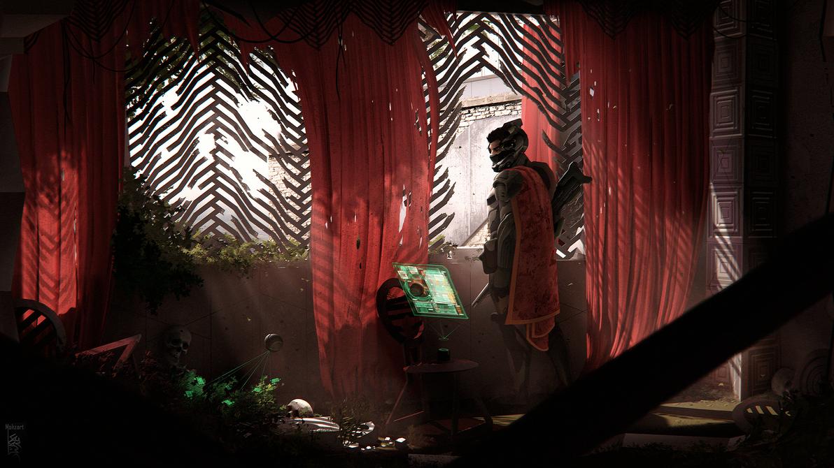PHANTOM Project - Scene: Scout by mohzart