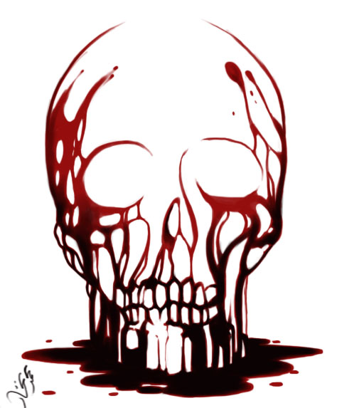 bloody skull wallpaper related - photo #34
