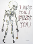 I miss you, I miss you by Garmonbozia