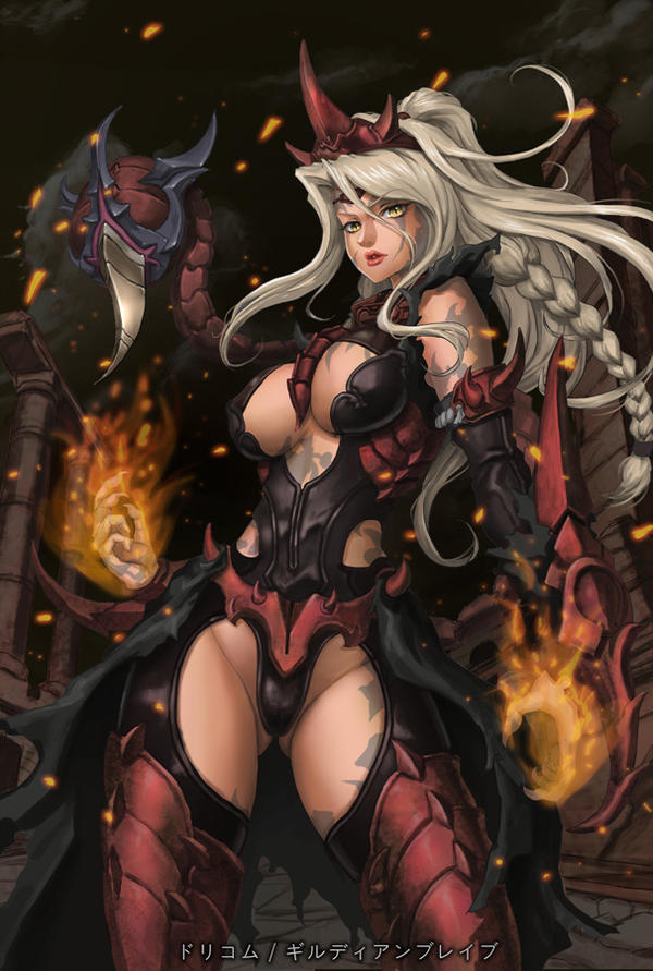 scorpion girl by neongun