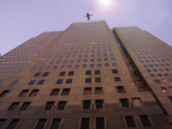 Suicide in NY city by justbegan
