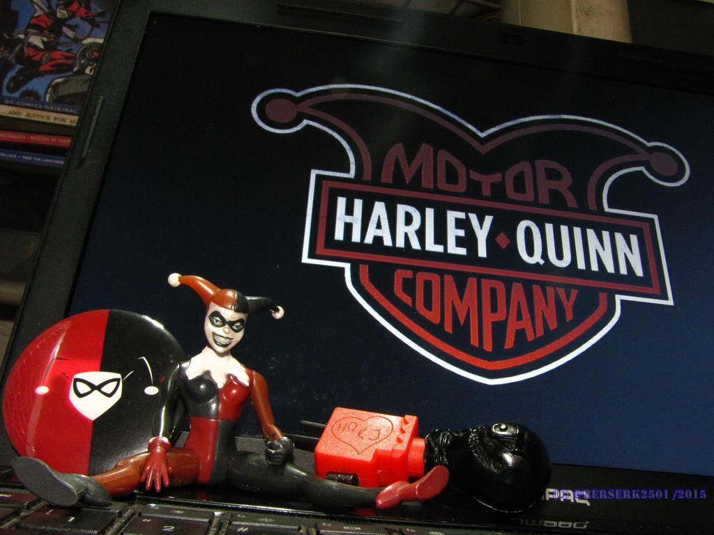 Harley Quinn figure rare 1997 (2) by erlan2501