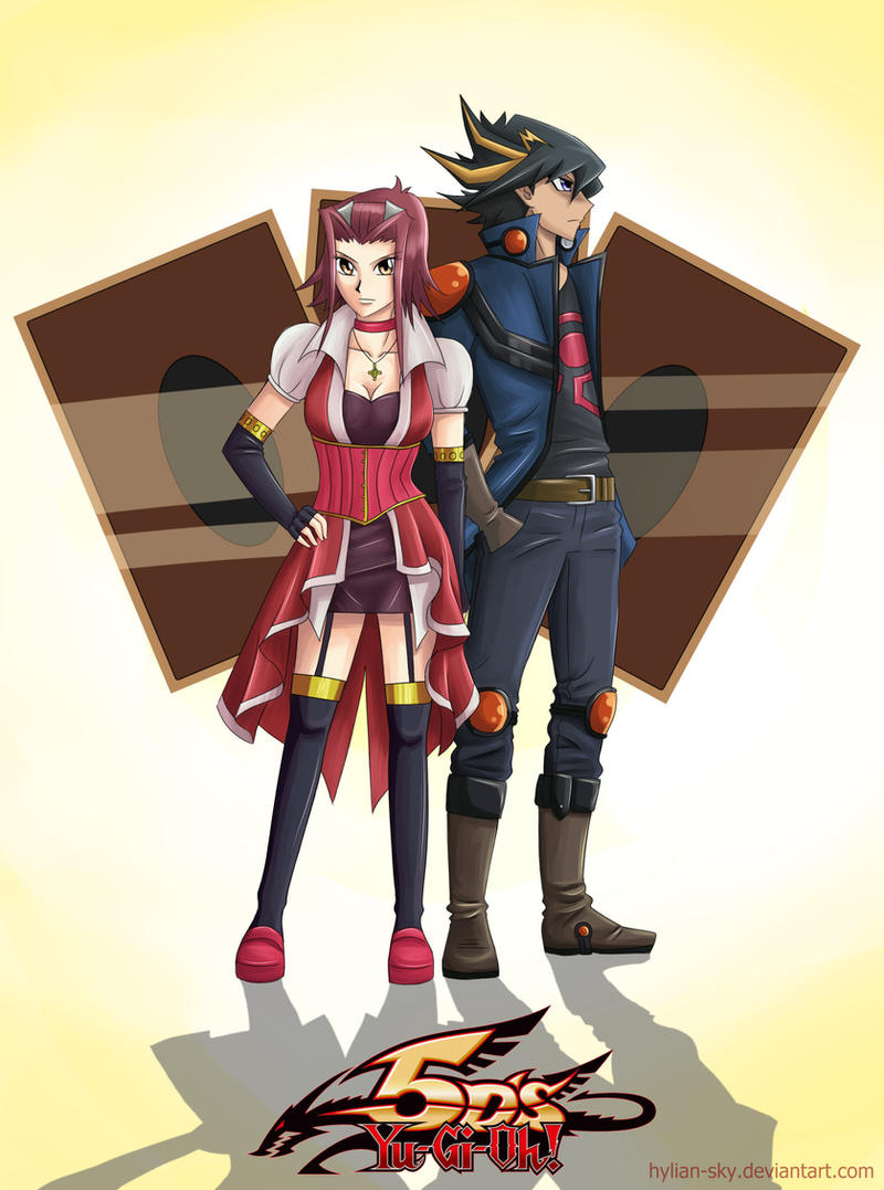 Akiza and Yusei by Scarlet---Sky