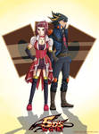 Akiza and Yusei