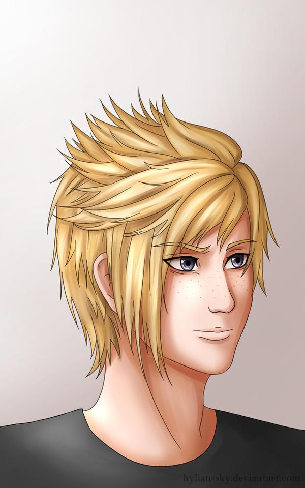 Prompto [Final Fantasy XV] by Scarlet---Sky