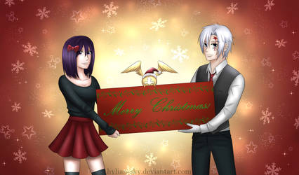 Merry Christmas~! [D.Gray-man] by Scarlet---Sky