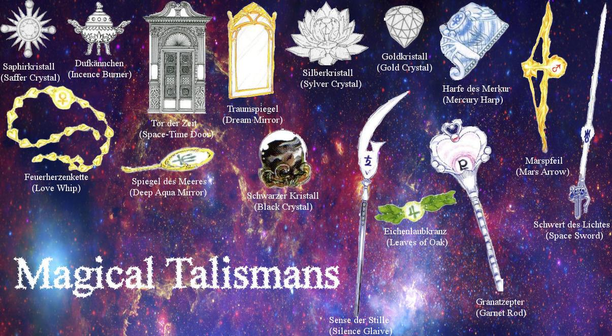 magical talismans by osabusan on deviantart